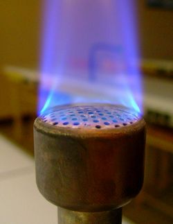 Cours - La combustion des gaz - 4e